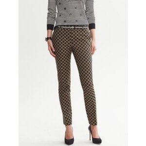 BANANA REPUBLIC Camden Fit Trellis Trouser Pants 6